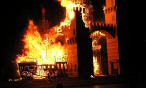 Falla Valenciana - Crema 50 Aniversario.