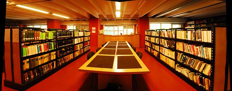 Bibliotecario - Biblioteca Mar Del Plata. PhotoCredit: UNMDP.