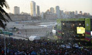 Juegos Bonaerenses - Fiesta inauguración.