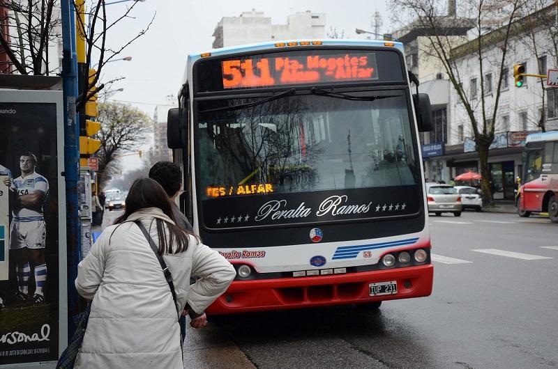 SUBE - Linea 511 de colectivo de Mar Del Plata. PhotoCredit: FM del Sol.