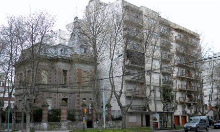 Villa Fiorito - Frente del mítico chalet.