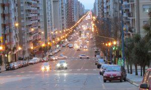Calles de Mar del Plata - La emblemática Avenida Colón.