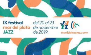Festival Mar del Plata Jazz - Flyer invitación al evento.