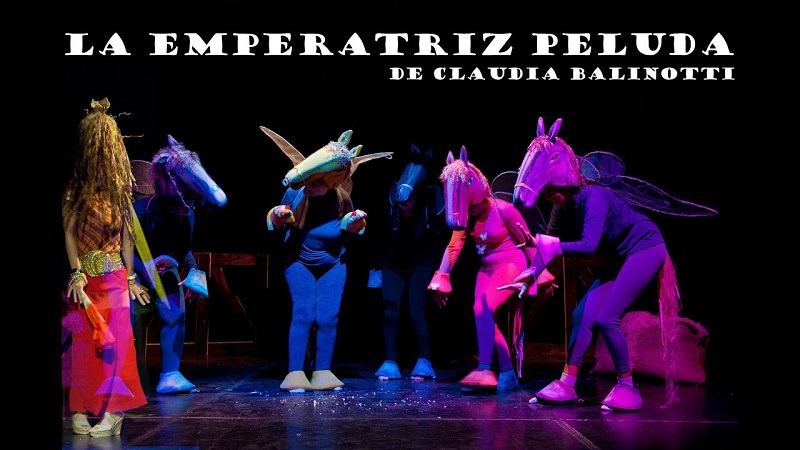 Teatro sin barreras - La Emperatriz Peluda.