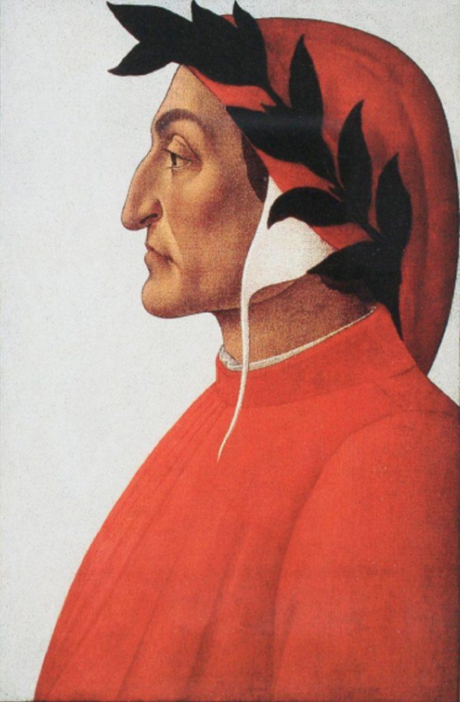 Día de Dante - Pintura De Dante Alighieri