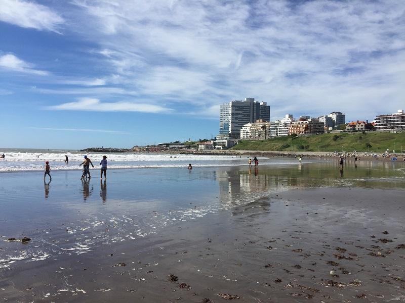 Aerópolis - Playa En Mar Del Plata Verano