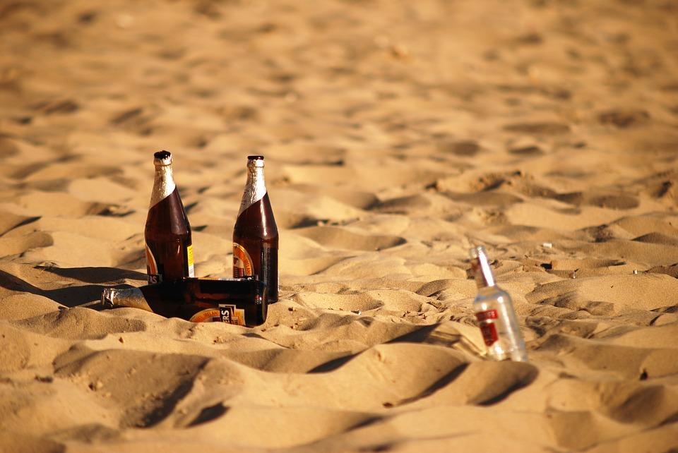 Playas limpias - Botellas De Cerveza