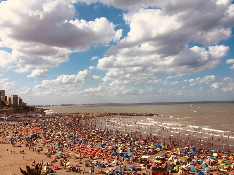 Mar del Plata - Playa Las Toscas