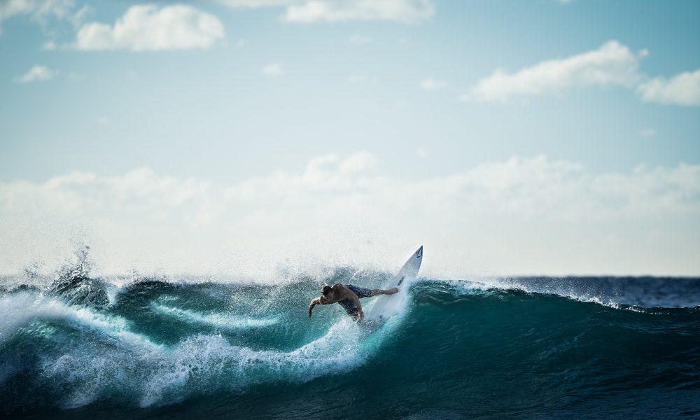 Surf - Surf en la costa.