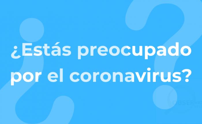 Marplatenses - Preocupación Coronavirus
