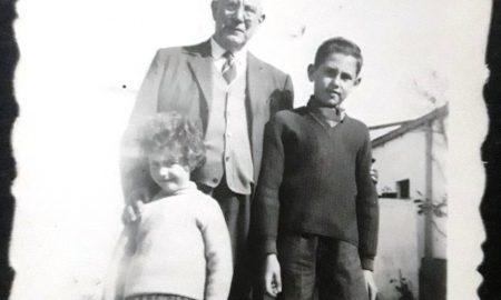 Ancestros - Andrés y sus nietos.