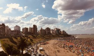 PreViaje - Playa De Mar Del Plata En El Verano Pasado.