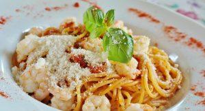 Día Mundial de la Pasta - Plato De Spaghettis.