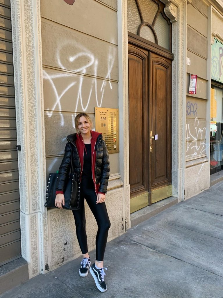 Maia Cassani - Maia en Italia.