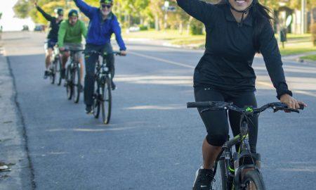 Bicicleta - Recorrido en bicicleta.