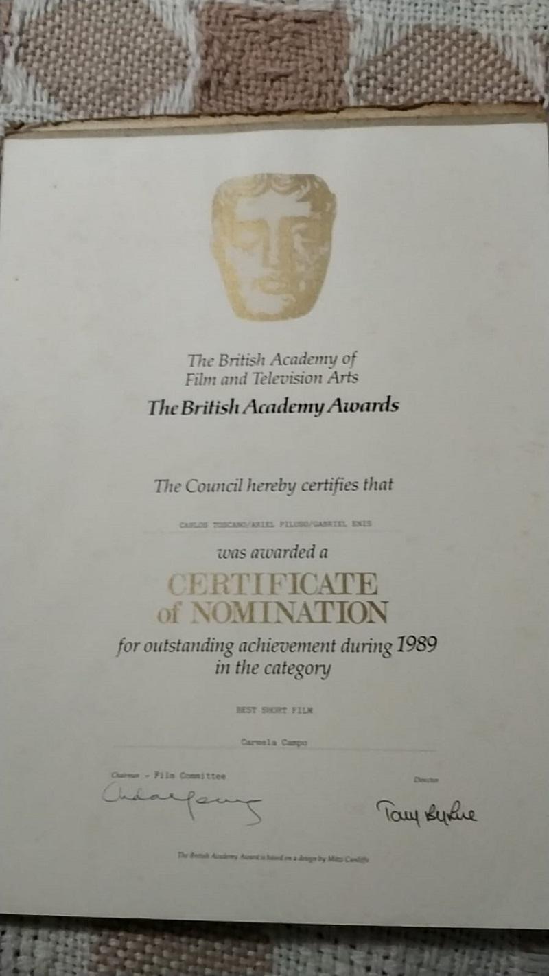 Carlos - Nominacion De Los British Academy Awards