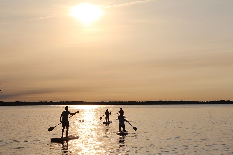 Stand Up Paddle - Grupo Haciendo Stand Up Paddle