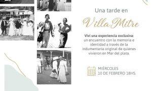 Una tarde en Villa Mitre - Invitación Una Tarde En Villa Mitre.