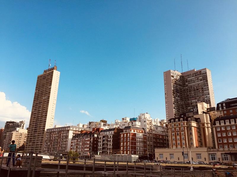 Una tarde en Villa Mitre - Vista Centro Mar Del Plata.
