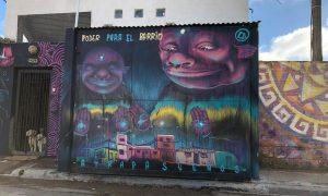 Proyecto Atrapasueños - Mural principal.