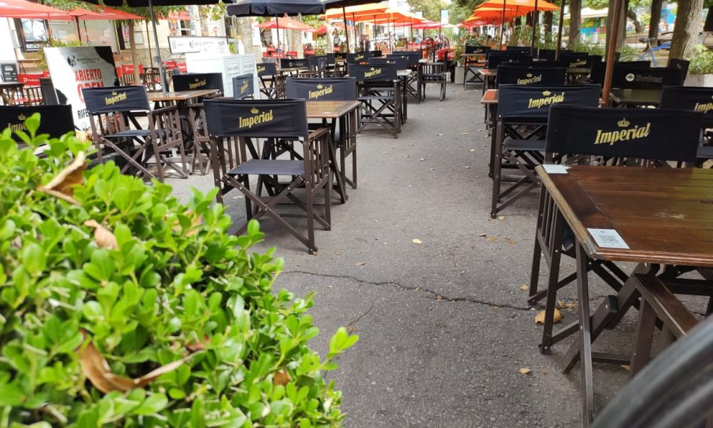Corredores Gastronómicos - Diagonal Pueyrredon y restaurantes.