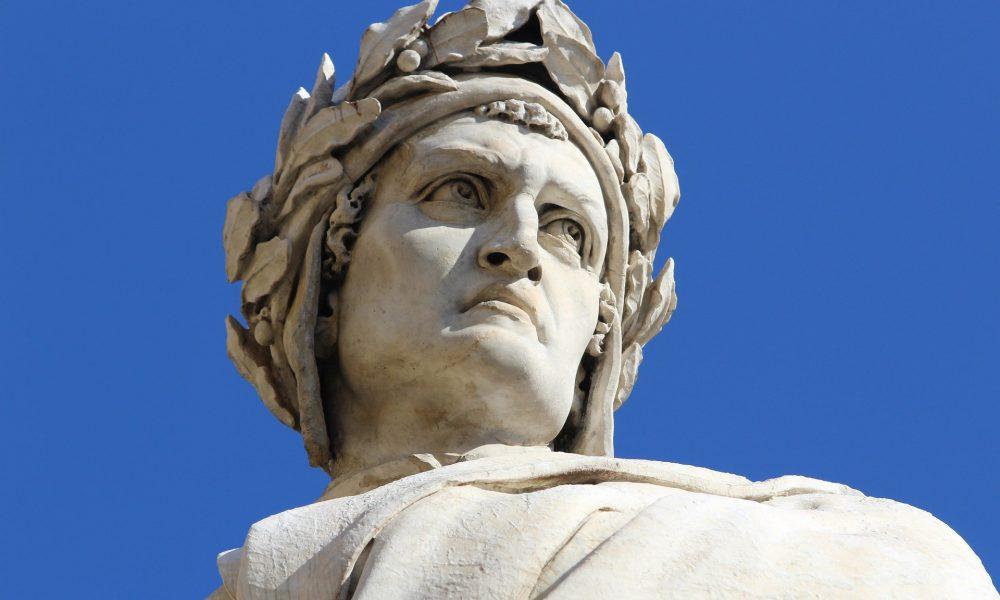 Dantedì - Estatua De Dante Alighieri.