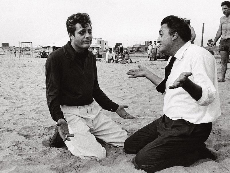 Ocho y medio - Fellini Y Mastroianni Grabando