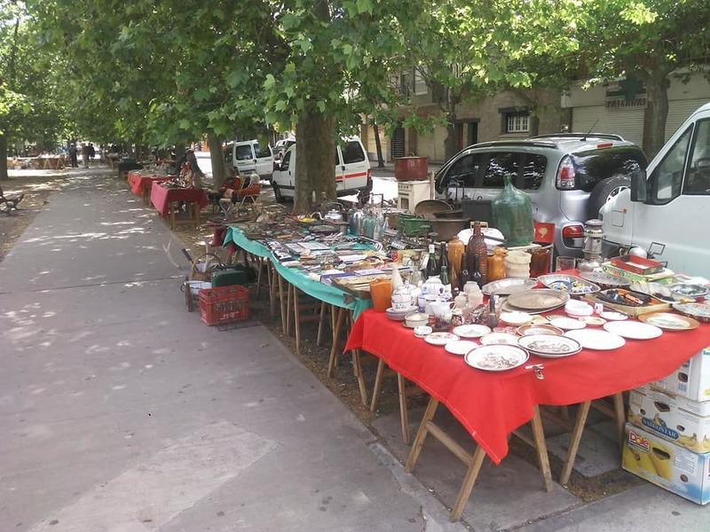 Ferias - Feria Pulgas Plaza Rocha.