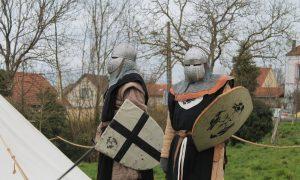 Combate Medieval - Representación De Un Combate Medieval.