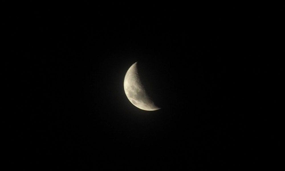 Astrofotografía - La luna.