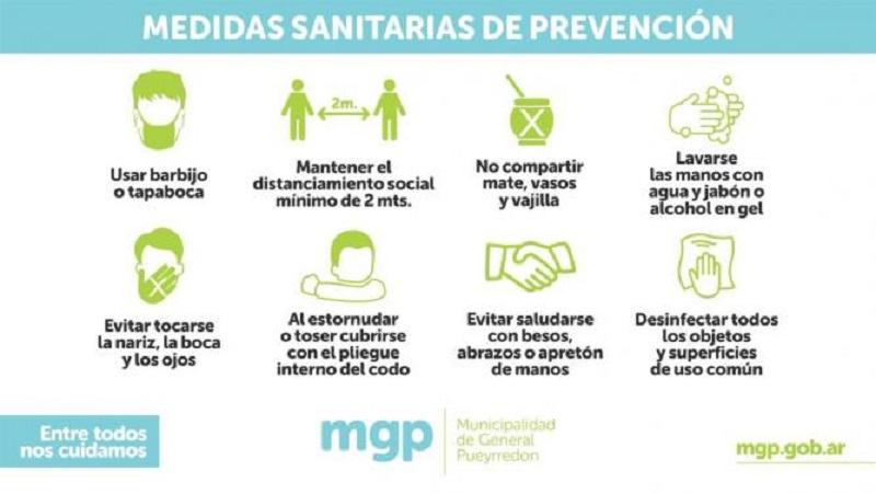 Sanitaria - Medidas De Prevencion Sanitarias.