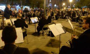 Plaza - Orquesta En La Plaza San Martin.