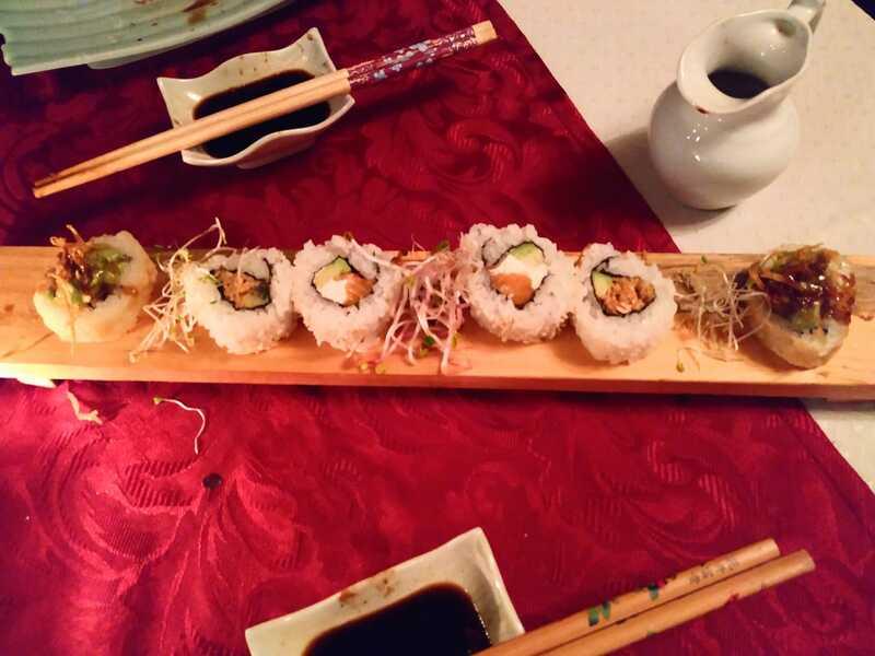 puertas cerradas - Sushi.