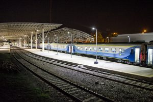 Miramar - Tren Mar Del Plata De Noche.