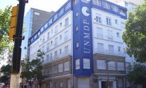 Universidad Nacional - Imagen Rectorado Unmdp En La Actualidad.