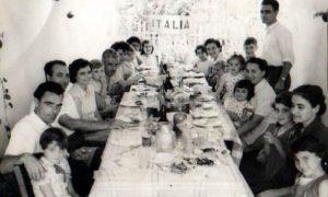 Oberá - Despedida de un italiano