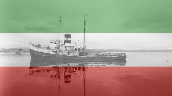 inmigrantes italianos - Barco Y Bandera
