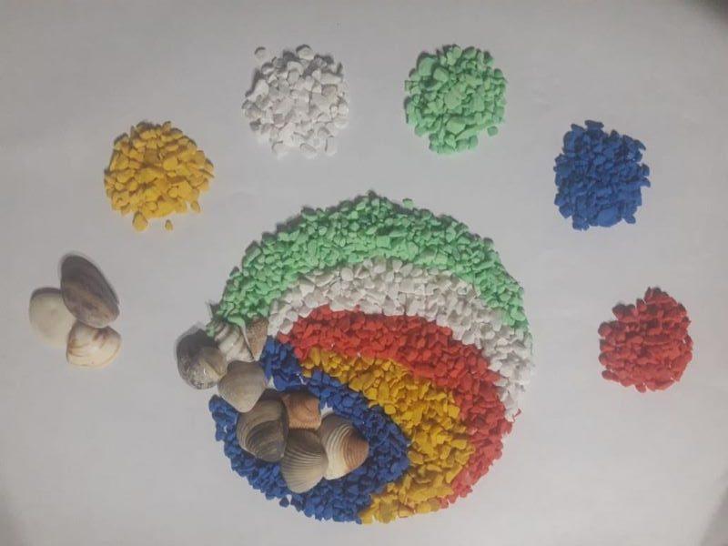 diversidad cultural - representacion de la diversidad cultural a traves de la convergencia de colores en un circulo y los colores aislados en otros circulos aparte
