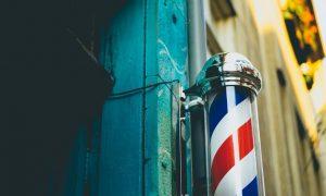 barbería - entrada