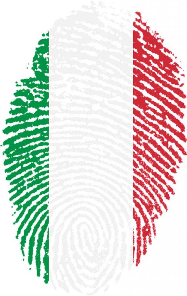 inmigrante italiano - huellas