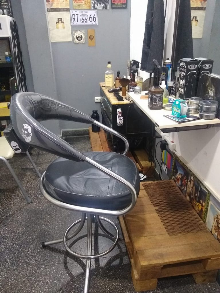 Barbería - Sillon De La Barberia Cosa Nostra