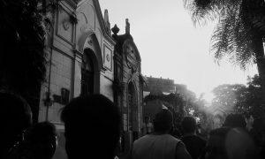 cementerio- Atardecer