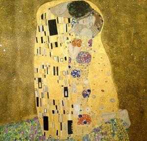 El beso - Klimt Gustav El Beso