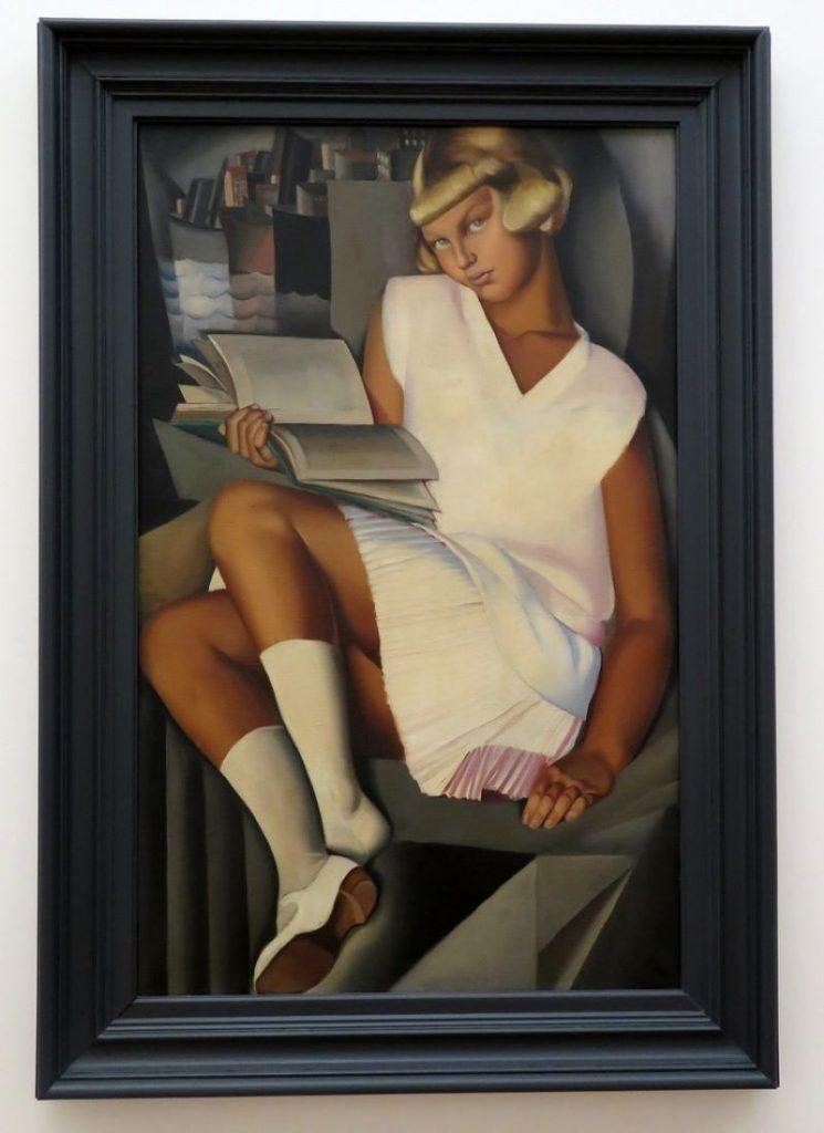 Alfonsina Storni - Pintura De Tamara De Lempicka