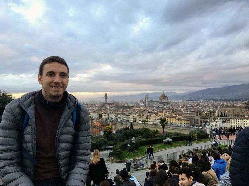 Viaje - Guillermo En Firenze