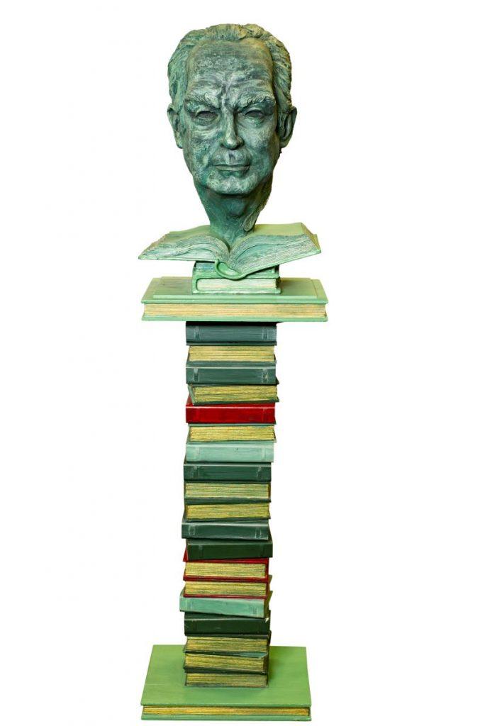 Italo Calvino - Busto Del Autor