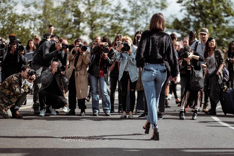 reality - modelo y Paparazzi
