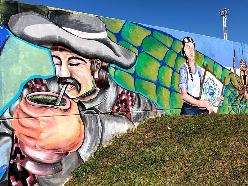 mural - Mate