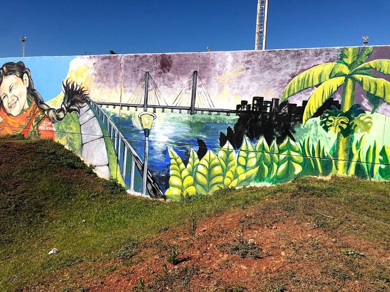 mural - Puente