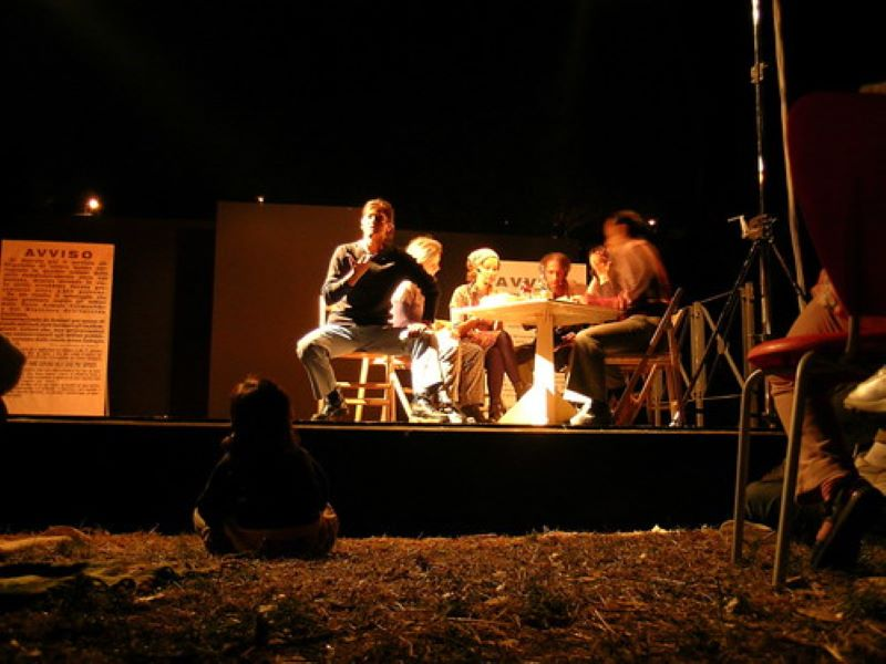teatro - Puesta En Escena Actual